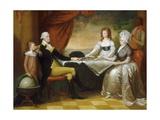 The Washington Family, C.1789-96 Giclee Print by Edward Savage