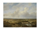 View of Haarlem, 1844 Giclee Print by Andreas Schelfhout