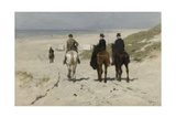 Morning Ride Along the Beach, 1876 Giclee Print by Anton Mauve