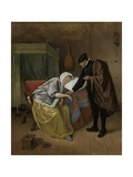 The Sick Woman, C. 1663-66 Giclee Print by Jan Steen