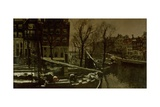 Winter in Amsterdam, C. 1900-01 Giclee Print by George Hendrik Breitner