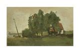 Farmstead, C. 1880-1923 Giclee Print by George Hendrik Breitner