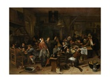 Prince'S Day, 1660-79 Giclee Print by Jan Steen