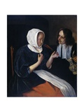A Couple Drinking, 1660-79 Giclee Print by Jan Steen