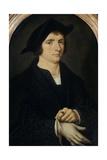 Portrait of Joris Vezeleer, C. 1518 Giclee Print by Joos Van Cleve
