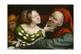 Ill-Matched Lovers, 1520-25 Giclee Print by Quentin Massys