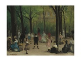 Luxembourg Gardens, 1906 Giclee Print by William James Glackens