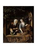 The Grocer's Shop, 1715 Giclee Print by Frans Van Mieris