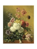 Still Life with Flowers, C. 1820-61 Giclee Print by Georgius Jacobus Johannes van Os