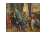 Family Group, 1910-11 Giclee Print by William James Glackens