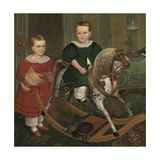 The Hobby Horse, 1840 Giclee Print by Robert Peckham