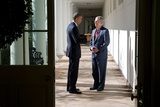 President Obama with Incoming Senate Majority Leader Mitch Mcconnell on Nov. 7, 2014 Photo