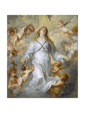 The Virgin as Intercessor, 1628-29 Giclee Print by Anthony Van Dyck