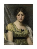 Portrait of a Young Woman, 1886 Giclee Print by Marie Wandscheer