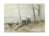 The Malllejan, C. 1860-80 Giclee Print by Anton Mauve
