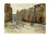 De Baan in Rotterdam, C. 1880-1923 Giclee Print by George Hendrik Breitner