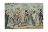 Monstrosities of 1819 and 1820 Giclee Print by George Cruikshank