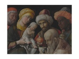 Adoration of the Magi, C. 1495-1505 Giclee Print by Andrea Mantegna