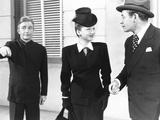 Angel on My Shoulder, from Left: Claude Rains, Anne Baxter, Paul Muni, 1946 Foto
