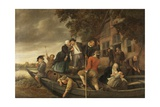 The Merry Homecoming, 1670-79 Giclee Print by Jan Steen