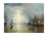 Keelmen Heaving in Coals by Moonlight, 1835 Giclee Print by Joseph Turner