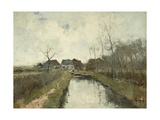 Cottage Near a Ditch, 1870-88 Giclee Print by Anton Mauve