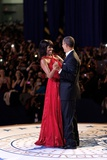 President Barack and Michelle Obama Dance at the Commander in Chief Inaugural Ball Photo