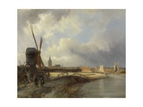 View of the Hague, C. 1850-52 Giclee Print by George Hendrik Breitner