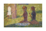 Study for 'La Grande Jatte', 1884-85 Giclee Print by Georges Seurat