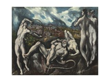 Laocoon, 1610-14 Giclee Print by  El Greco
