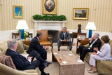 President Obama Meets with Congressional Leadership on Foreign Policy Issues, Including Iraq Photo