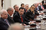 President Barack Obama Meets with the Senate Republican Caucus, May 12, 2011 Photo