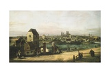 Munich, C. 1761 Giclee Print by Bernardo Bellotto