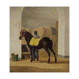 Adriaan Van Der Hoop'S Trotter 'De Rot' at Coach House, 1828 Giclee Print by Anthony Oberman