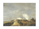 Bombardment of Naarden, April 1814 Giclee Print by Pieter Gerardus van Os