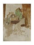 Street in Montmartre, Paris, C. 1880-1923 Giclee Print by George Hendrik Breitner