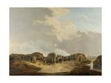 Demilune Constructed at the Siege of Naarden, April 1814 Giclée-Druck von Pieter Gerardus van Os