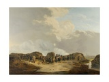 Demilune Constructed at the Siege of Naarden, April 1814 Giclee Print by Pieter Gerardus van Os