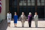 First Lady Michelle Obama Poses with Former First Ladies, April 25, 2013 Photo