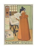 Displays of N. Lembree Prints and Art Frames, 1897 Gicléetryck av Theo van Rysselberghe
