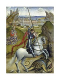 Saint George and the Dragon, 1432-35 Giclée-Druck von Rogier van der Weyden