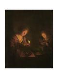 Fire and Light, 1690-1706 Giclee Print by Godfried Schalcken