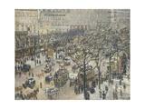 Boulevard Des Italiens, Morning, 1897 Reproduction procédé giclée par Camille Pissarro