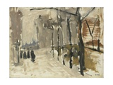 View in the Hague, George Hendrik Breitner, C. 1880-1923 Giclee Print by George Hendrik Breitner