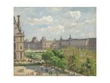 Place Du Carrousel, 1900 Reproduction procédé giclée par Camille Pissarro