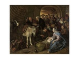 The Adoration of the Shepherds, 1660-79 Giclee Print by Jan Steen