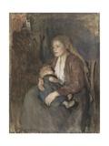Nordic Madonna, C. 1890-1910 Giclee Print by Albert Neuhuys