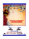 Chinatown, Spanish Poster Art, Jack Nicholson, Faye Dunaway, 1974 Giclee Print