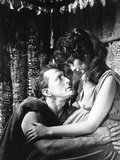 Spartacus, from Left, Kirk Douglas, Jean Simmons, 1960 Photographie
