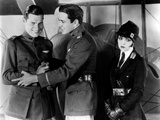 Wings, from Left, Richard Arlen, Charles Buddy Rogers, Clara Bow, 1927 Photo